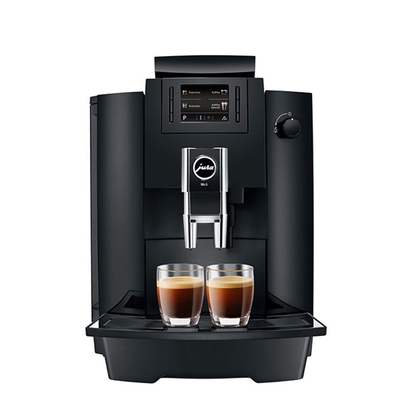 koffiemachine jura we6 professional voor op kantoor. Black Bedroom Furniture Sets. Home Design Ideas